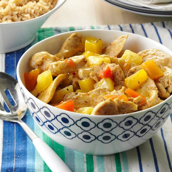 Caribbean Chicken Stir-Fry