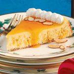 Apricot Swirl Cheesecake