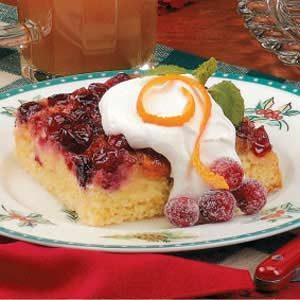 Orange-Cranberry Upside-Down Cake