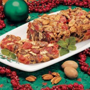 Pecan Date Fruitcake