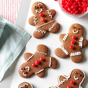 Easy Chocolate Gingerbread Cutouts