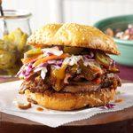 Southwestern Shredded Beef Sandwiches
