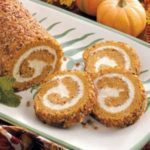 Pumpkin-Pecan Cake Roll