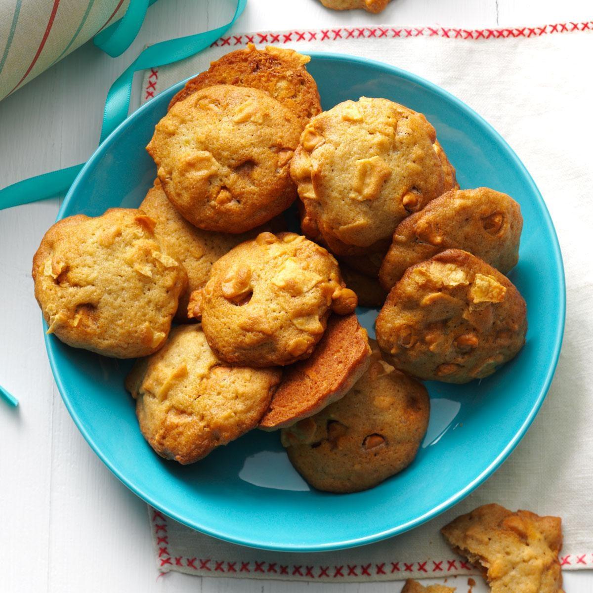 Potato Chip Banana Bread Cookies