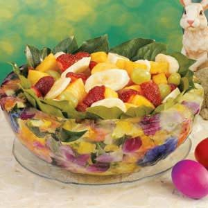 Floral Ice Bowl