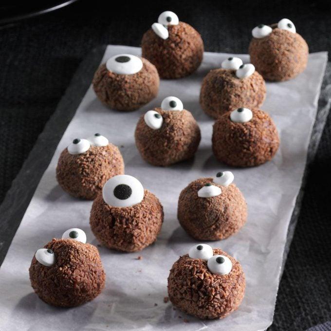 Spooky Snack: Spiced Chocolate Truffles