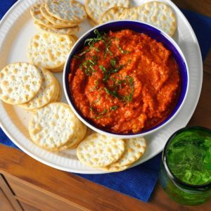 Roasted Red Pepper Tapenade