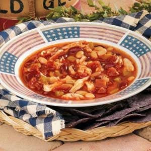 Red, White and Blue Chili