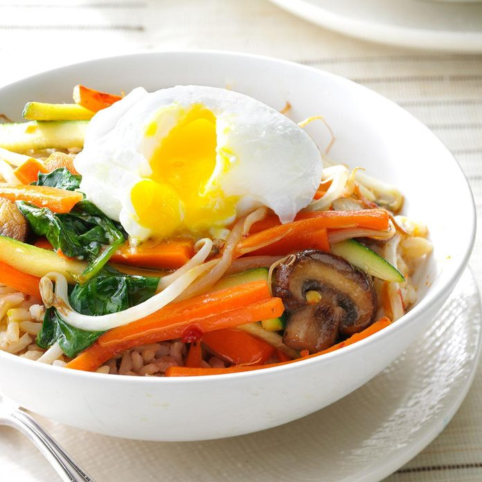 Day 4: Stir-Fry Rice Bowl
