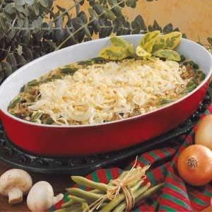 Savory Green Bean Casserole