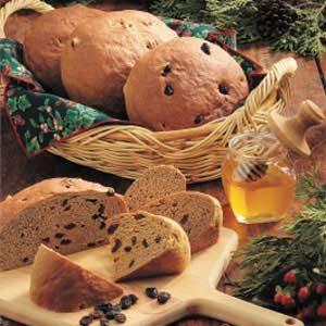 Country Raisin Rye Bread