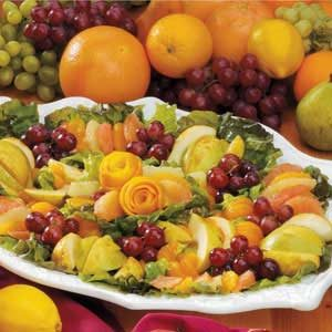 Fresh Fruit with Balsamic Vinaigrette