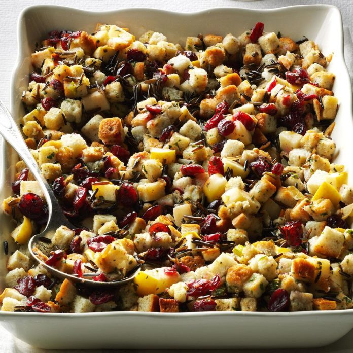 Apple-Cranberry Stuffing