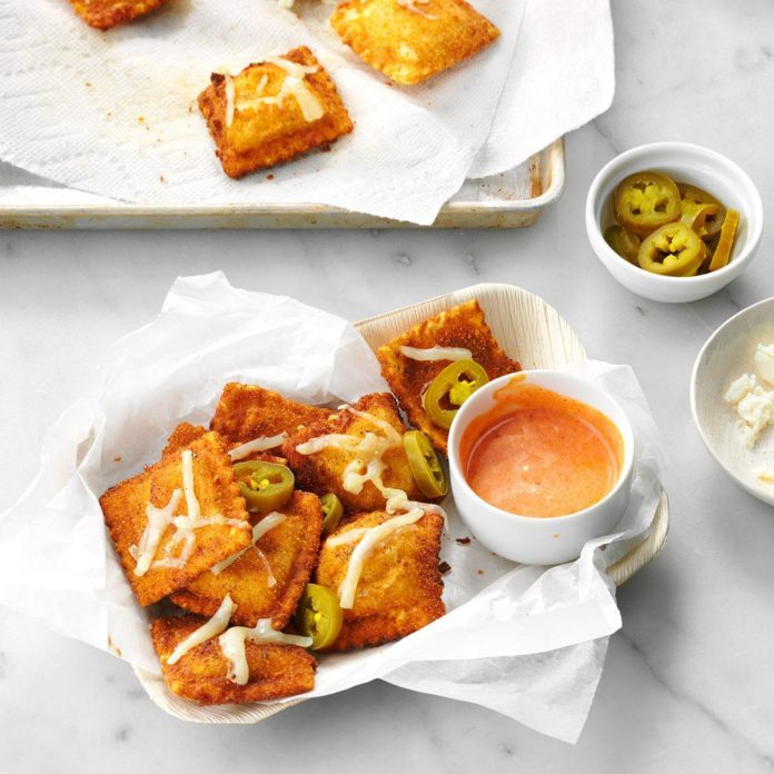 West Virginia: Toasted Mexican Ravioli
