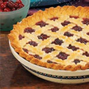 Raisin Cranberry Pie