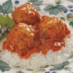 Turkey Meatballs in Garlic Sauce