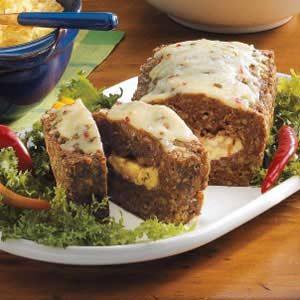 Pepper Jack Meat Loaf