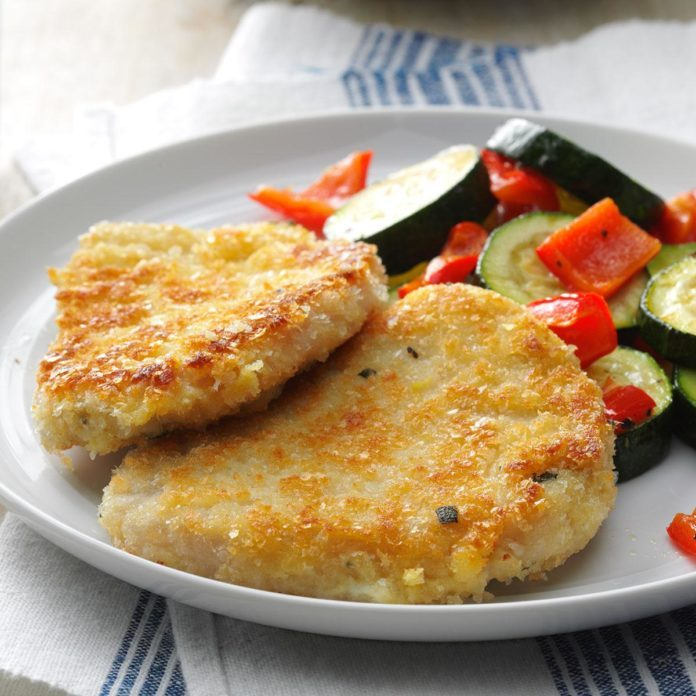Day 17: Breaded Mustard & Sage Pork Cutlets