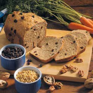 Carrot Raisin Bread