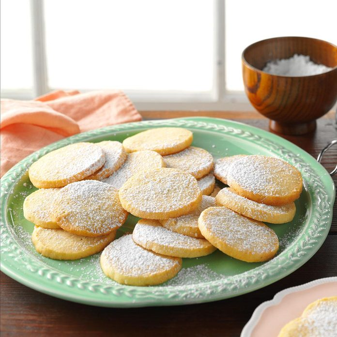 Honey-Lime Almond Cookies