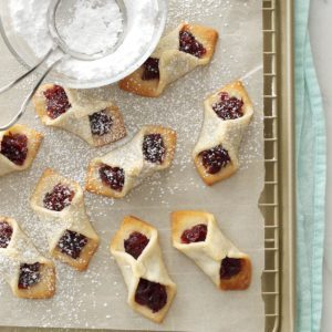 Cranberry Tea Cookies