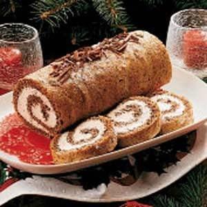 Pecan Cake Roll