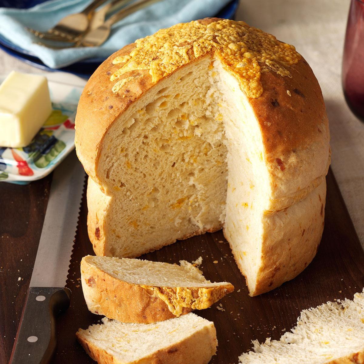 No-Knead Casserole Bread Recipe | Taste of Home