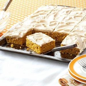 Pumpkin Bars with Browned Butter Frosting