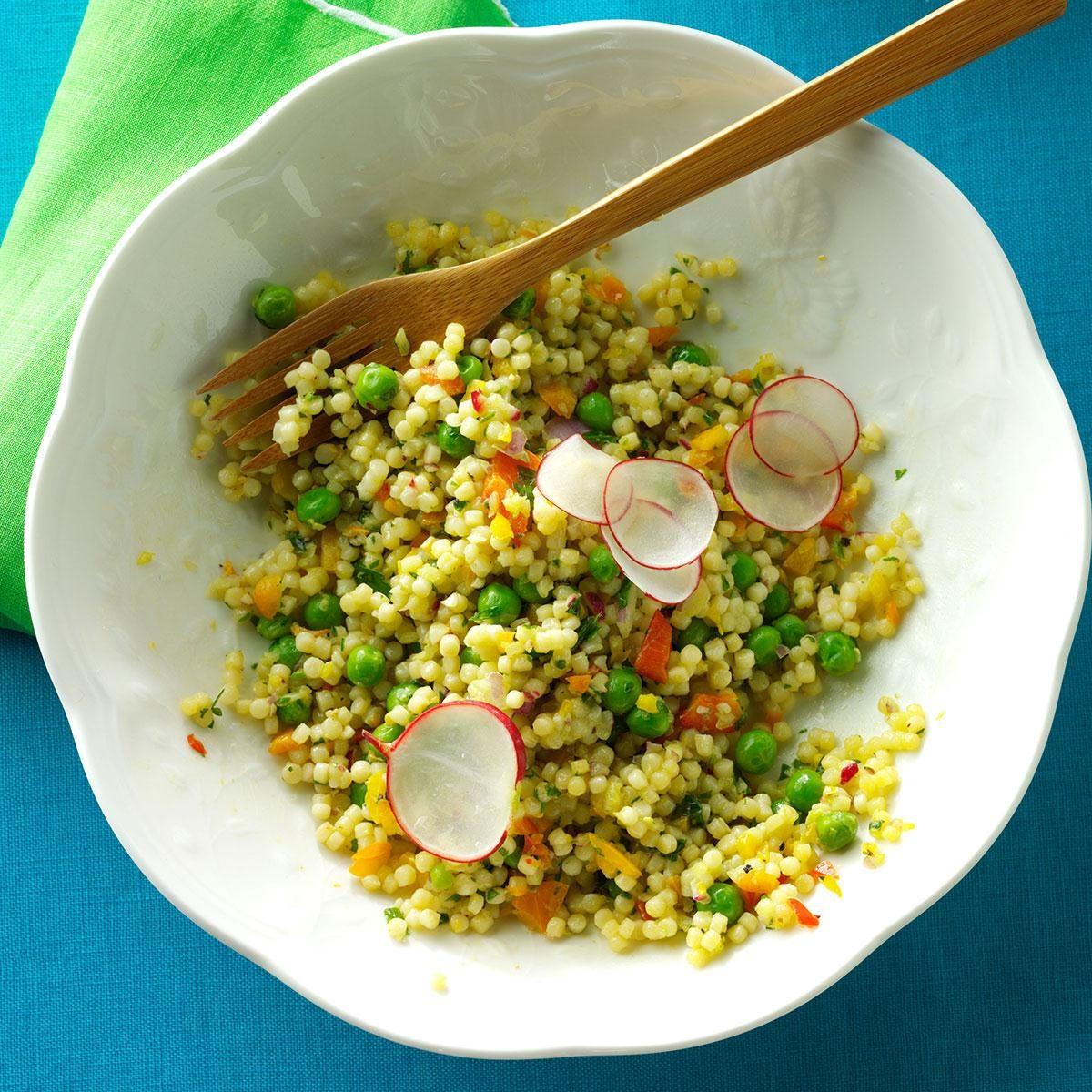 Peas & Pepper Pasta Salad