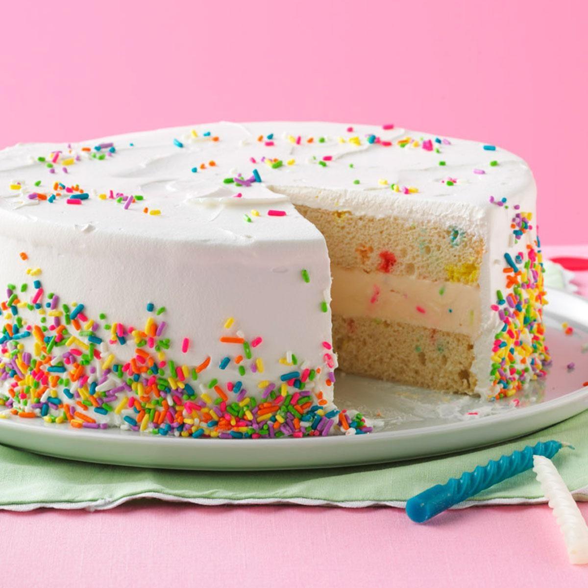 Ice Cream Birthday Cake Recipe How To Make It Taste Of Home