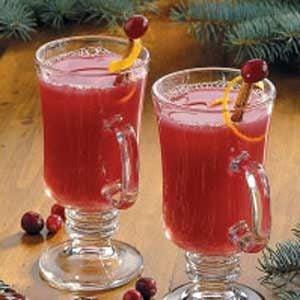 Hot Cranberry Citrus Drink
