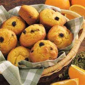 Orange Raisin Muffins