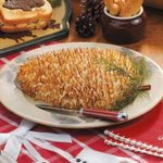 Cheese Spread Pinecone