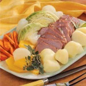 Boiled New England Dinner
