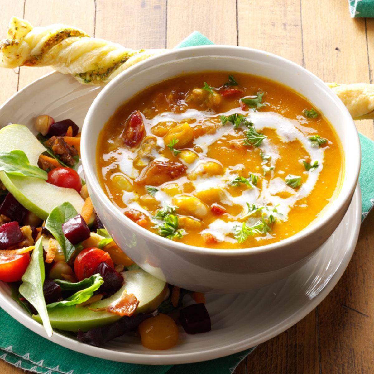 Michigan: Hearty Butternut Squash Soup