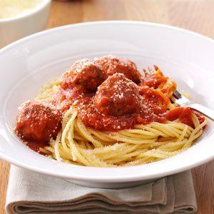 Italian Spaghetti & Meatballs