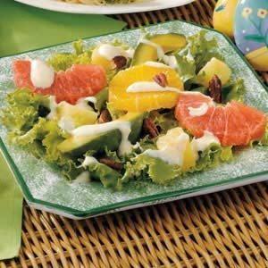 Gingered Citrus-Avocado Salad