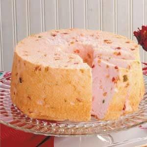 Tutti-Frutti Angel Food Cake