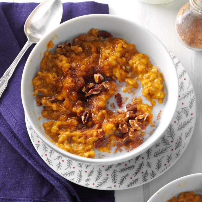 Inspired by: Trader Joes' Pecan Pumpkin Instant Oatmeal