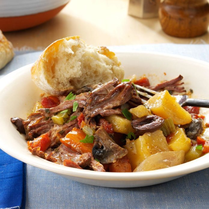 Mediterranean Pot Roast Dinner