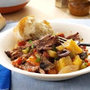 Mediterranean Pot Roast Dinner