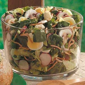 Spinach Floret Salad