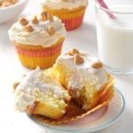 Peanut Butter & Jelly Cupcakes