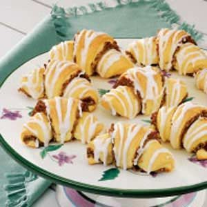 Nut-Filled Butterhorns
