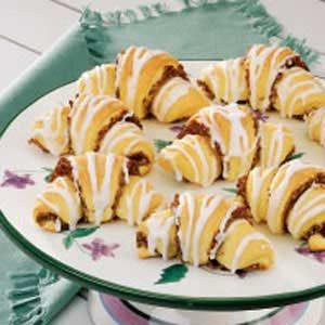 Nut-Filled Butterhorns