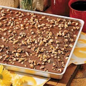 Chocolate Sheet Cake Recipe   Taste of Home