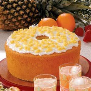 Orange Pineapple Chiffon Cake