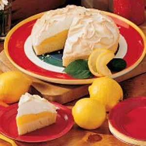 Rich Lemon Meringue Cake
