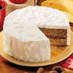 Buttermilk Banana Cake