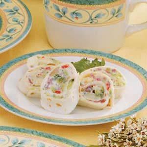 Veggie Tortilla Pinwheels